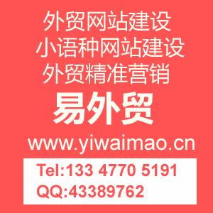 外贸营销型网站建设